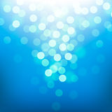 Bright colorful blurred sun and sea. Vector Eps10 illustration royalty free illustration