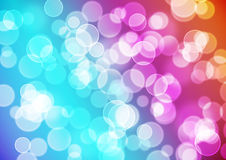 Bright colorful bokeh background Royalty Free Stock Photo