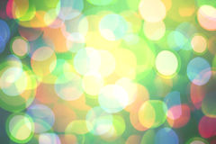 Bright colorful bokeh background for Christmas and New Year. Stock Photos