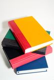 Bright Colorful Books. Stacked books of different colors Royalty Free Stock Photos