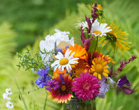 Bright colorful bouquet Royalty Free Stock Photos