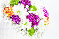 Bright colorful bouquet flowers Stock Photo