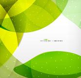 Bright colorful business flowing shapes design Stock Photography