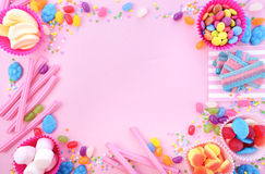 Bright colorful candy background Royalty Free Stock Photography