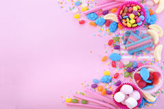 Bright colorful candy background Stock Photography