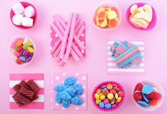 Bright colorful candy background Royalty Free Stock Images