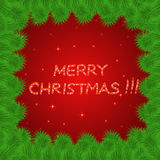 Bright and colorful christmas background. Stock Photography