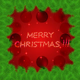 Bright and colorful christmas background. Royalty Free Stock Photo