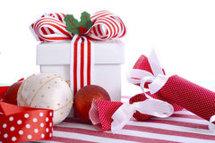 Bright Colorful Christmas Gift Stock Photos