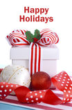 Bright Colorful Christmas Gift Stock Image