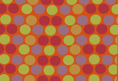 Bright and colorful circles Royalty Free Stock Photography