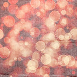 Bright colorful circles with bokeh background. Grunge background or texture, illustration Stock Image