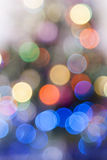 Bright colorful circles with bokeh background Stock Photo
