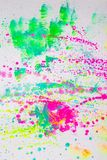 Bright colorful creative abstract art. Drawn on a white background vector illustration