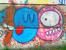 Graffiti about love and betrayal royalty free stock photography