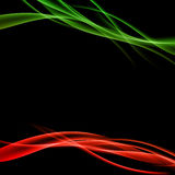 Bright colorful futuristic smoke background layout. Vector illustration Royalty Free Stock Photos