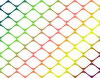 Bright colorful geometric abstract grid pattern background paper illustration royalty free stock images