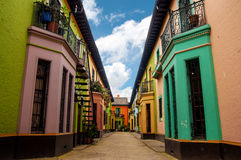 Historic Colorful Buildings Royalty Free Stock Image