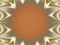 Kaleidoscope bloom flair royalty free illustration