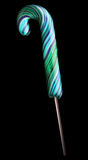 Bright colorful lollipop over black background Stock Photography