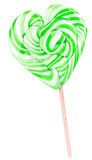 Bright colorful lollipop over white background Stock Photos
