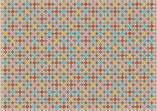 Bright colorful mosaic background Stock Images