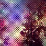 Bright colorful mosaic background. Vector illustration Royalty Free Stock Images