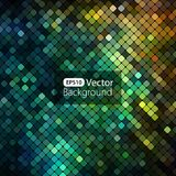 Bright colorful mosaic background. Vector illustration Stock Photos