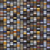 Bright colorful mosaic seamless pattern. Royalty Free Stock Photo