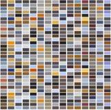 Bright colorful mosaic seamless pattern. Stock Photo
