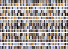 Bright colorful mosaic seamless pattern. Stock Photos