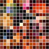 Bright colorful mosaic seamless pattern. Stock Images