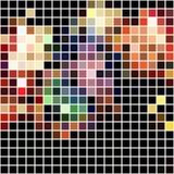 Bright colorful mosaic seamless pattern. Stock Photography