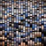 Bright colorful mosaic seamless pattern. Royalty Free Stock Image