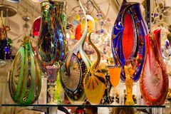 Free Bright, Colorful Murano Glassware In Venetian Shop Window. Royalty Free Stock Photos - 106343728