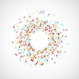 Bright colorful paint splatter splash explosion background Royalty Free Stock Image