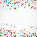 Bright colorful parti-colored abstract layout Royalty Free Stock Photos