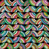Bright colorful seamless pattern. Hand drawn Stock Photo
