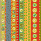 Bright Colorful seamless stripes pattern. Royalty Free Stock Images