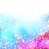 Bright colorful shimmering seasonal background Royalty Free Stock Photography