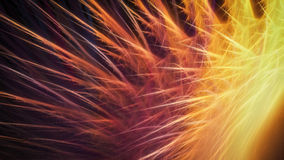 Bright colorful sparks. Bright colorful hot red and orange sparks Stock Photo