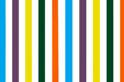 Bright colorful striped wall background Stock Photos