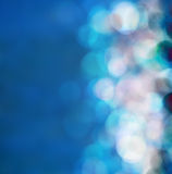 Bright colorful sun and sea bokeh background Royalty Free Stock Photo