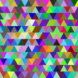Bright colorful vector seamless pattern with triangles. Abstract background. Colourful backdrop Royalty Free Stock Image