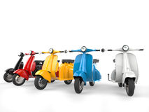 Bright and colorful vintage - low angle shot Royalty Free Stock Image