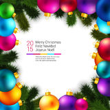 Bright and colorful winter holidays background. Royalty Free Stock Photos