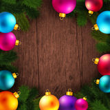 Bright and colorful winter holidays background. Stock Image