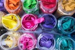 ฺBright colors balloon before blow up Royalty Free Stock Photo