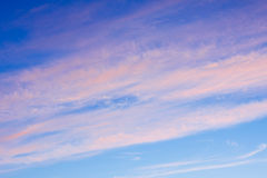 Bright colors in a beautiful sky Stock Photos