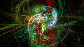 Bright colors curves and waves abstract background Royalty Free Stock Photography